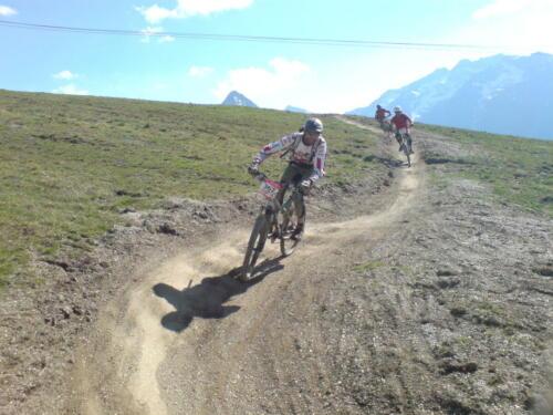 Deux Alpes descente 2